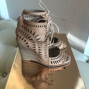 Jeffrey Campbell Rodillo Wedge Sandals